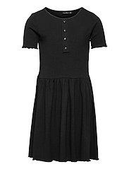 NLFNUNNE SS DRESS - BLACK