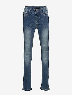 NLMPILOU DNMTRUMAN 2311 SWE PANT - dżinsy - medium blue denim