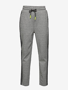 NLMTROUBLE REG SLIM SWEAT PANT - GREY MELANGE