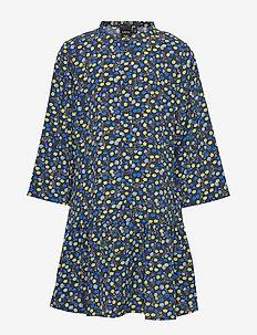 NLFBYNA 3/4  DRESS - sukienki - sky captain
