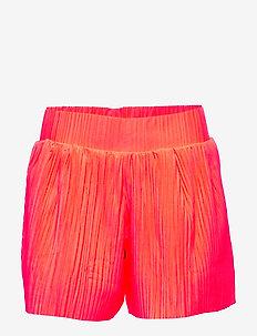 NLFDAHLIA LOOSE SHORTS W. LINING - shorts - fiery coral