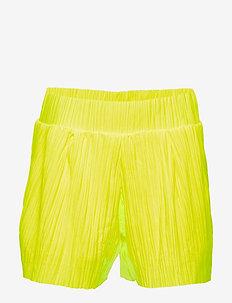 NLFDAHLIA LOOSE SHORTS W. LINING - shorts - safety yellow