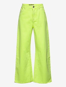 NLFIZZA TWI WIDE  7/8 PANT - SAFETY YELLOW