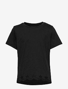 NLFHIRSE SS R SHORT TOP - krótki rękaw - black