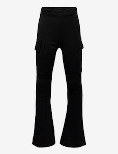 NLFNILJE BOOTCUT PANT - bukser - black