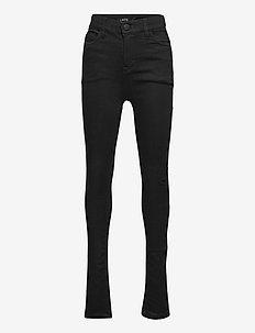 NLFPIL DNMTECILLE 7376 HW PANT - jeans - black denim