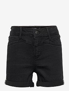 NLFRAVEN DNMBATECES 7445 HW SHORTS NOOS - shorts - black denim
