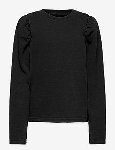 NLFTINKER LS SWEAT - sweatshirts - black
