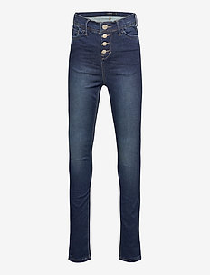NLFPIL DNMTIA 2234 HW PANT - jeans - medium blue denim