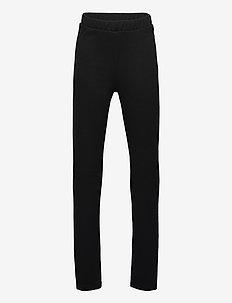 NLFDONNA SLIT PANT - jogginghosen - black