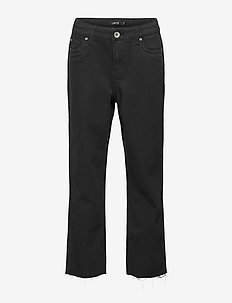 NLFRAVEN DNMIZZA HW ANKLE  PANT - jeans - black denim