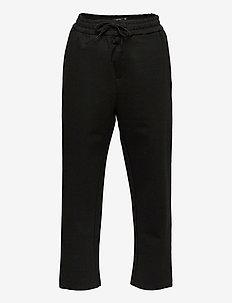 NLMREGINO REG SLIM PANT - spodnie - black