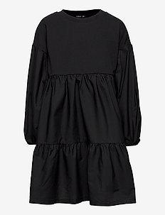 NLFSELUC  DRESS - klänningar - black