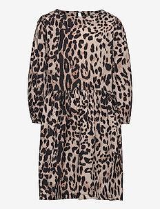 NLFSELLIES 3/4 DRESS - sukienki - thrush