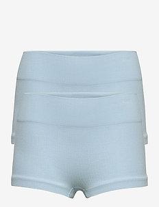NLFHAILEY RIB HIPSTER 2PACK - shorts - skyway