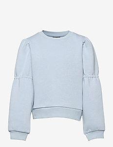 NLFOPALELLA LS  SHORT SWEAT - sweatshirts - skyway