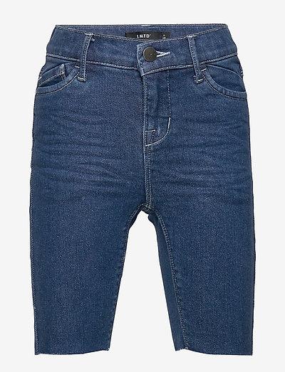 NLFPIL DNMTEM 2348 BIKER SHORTS - shorts - medium blue denim