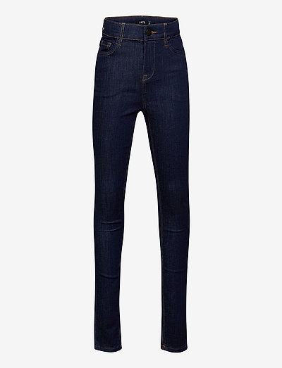NLFPIL DNMTEJAS 3340 HW PANT - jeans - dark blue denim