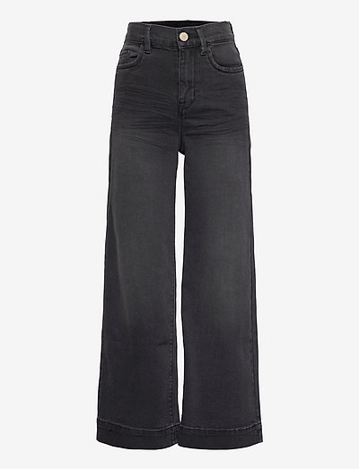 NLFATONSONS DNM 7526 7/8 HW W PANT - jeans - black denim