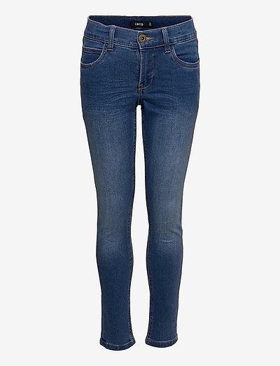 NLMSIAN DNMTOGO 2533 PANT - jeans - medium blue denim