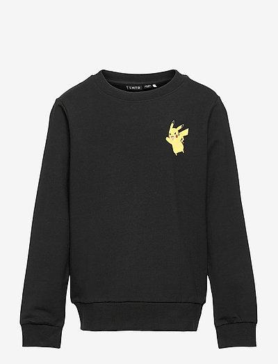 NLMPOKEMON BERNARD SWEAT BRU BOX BFU - sweatshirts - black