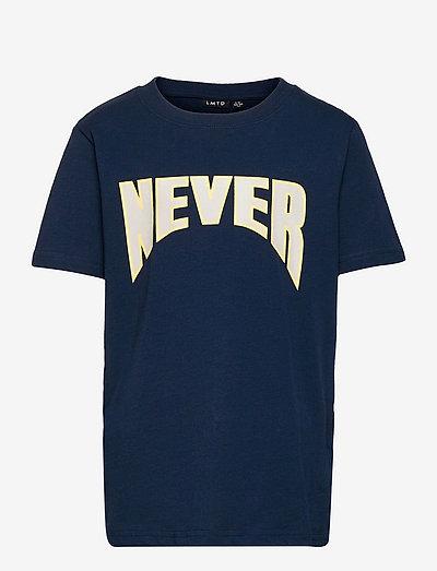 NLMNADAL SS R TOP - t-shirts - dress blues