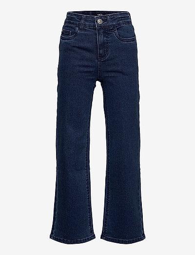 NLFNAILE DNM HW  WIDE PANT - jeans - dark blue denim