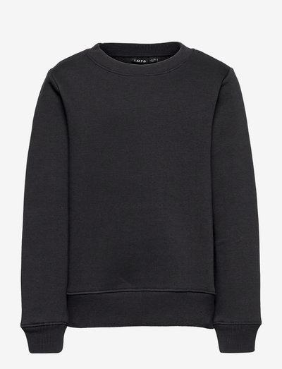 NLMOPAWL LS O-NECK SWEAT - sweatshirts - black