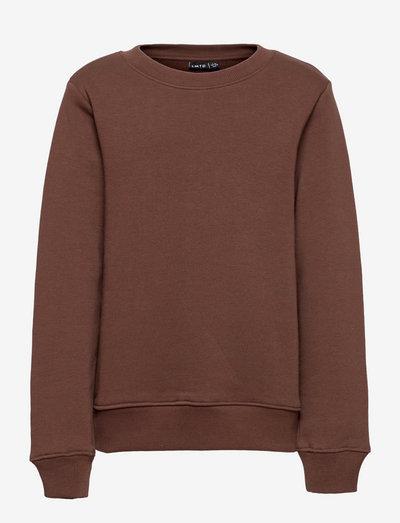 NLMOPAWL LS O-NECK SWEAT - sweatshirts - chestnut