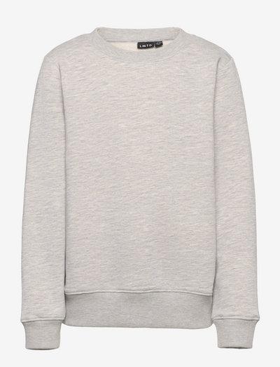 NLMOPAWL LS O-NECK SWEAT - sweatshirts - light grey melange