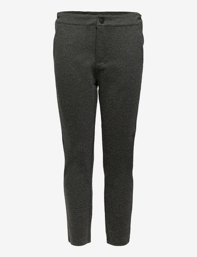 NLMRAKE REG SLIM PANT - hosen - dark grey melange