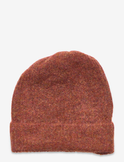 NLFNADEEN KNIT HAT - beanie - etruscan red
