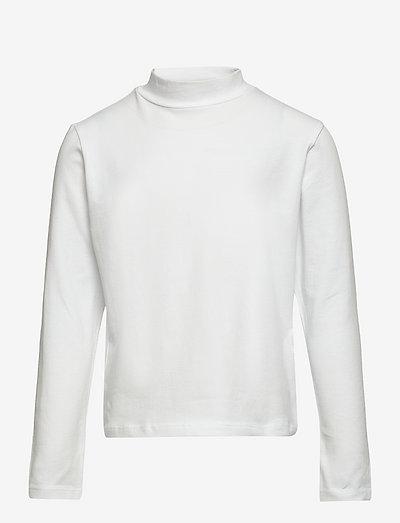 NLFOPALLI LS S TURTLENECK TOP - pullover - bright white
