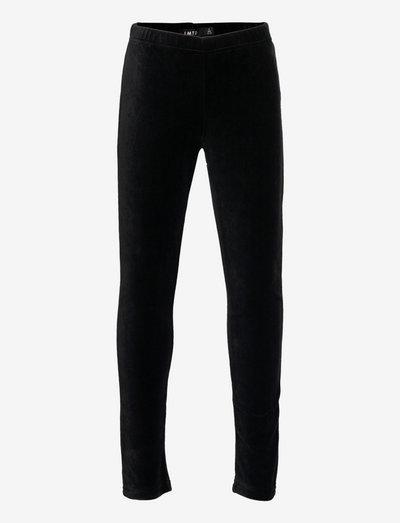 NLFNETTE VELVET LEGGING - leggings - black