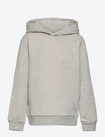 NLMBOPAWL LS SWEAT   W. HOOD - kapuzenpullover - light grey melange