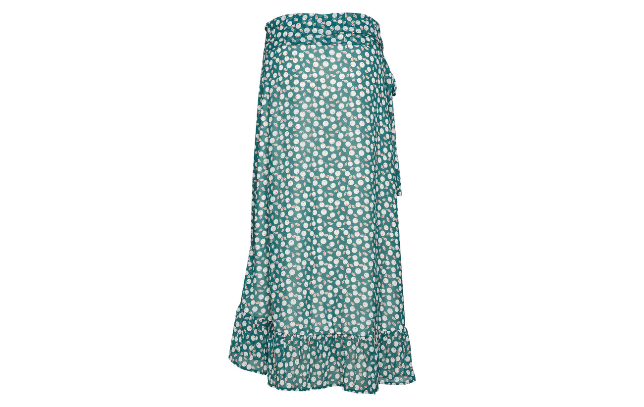 Lollys Laundry Dark Green Polyester Skirt Amby 100 wRwOg