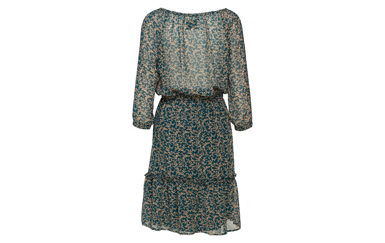 Laundry City 100 Petrol Lollys Polyester Dress SfT5nw1x