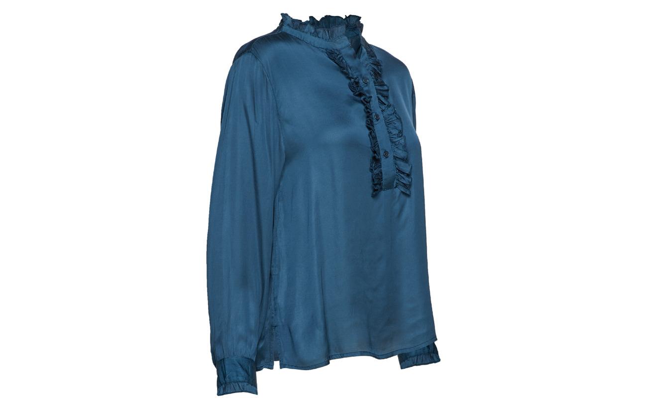 Modale Shirt 100 Lollys Laundry Franka Petrol FqOx1aU