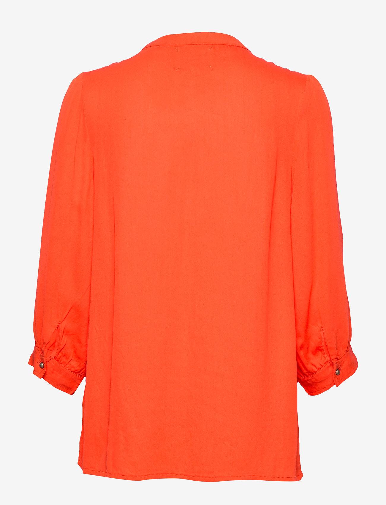 Amalie Shirt (Orange) (567 kr) - Lollys Laundry