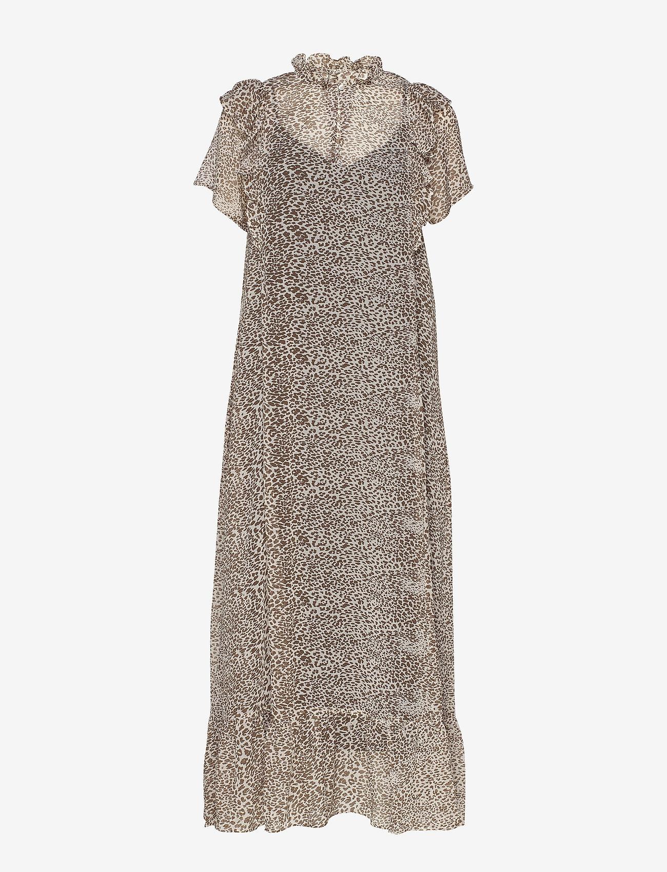 Ricca Dress (Leopard Print) (810 kr) - Lollys Laundry