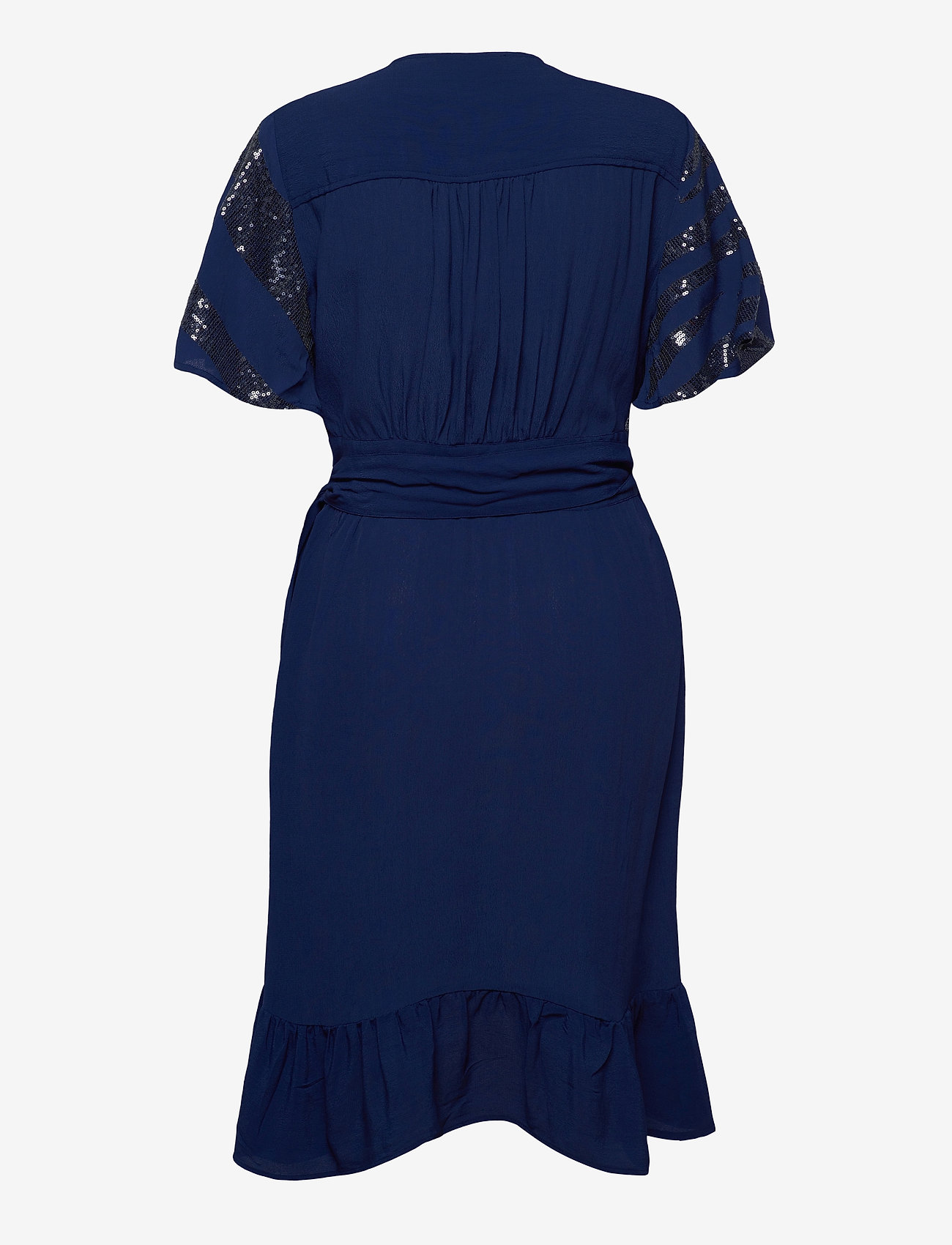 Lollys Laundry - Ankara Dress - cocktail-kjoler - 29 dusty blue - 1
