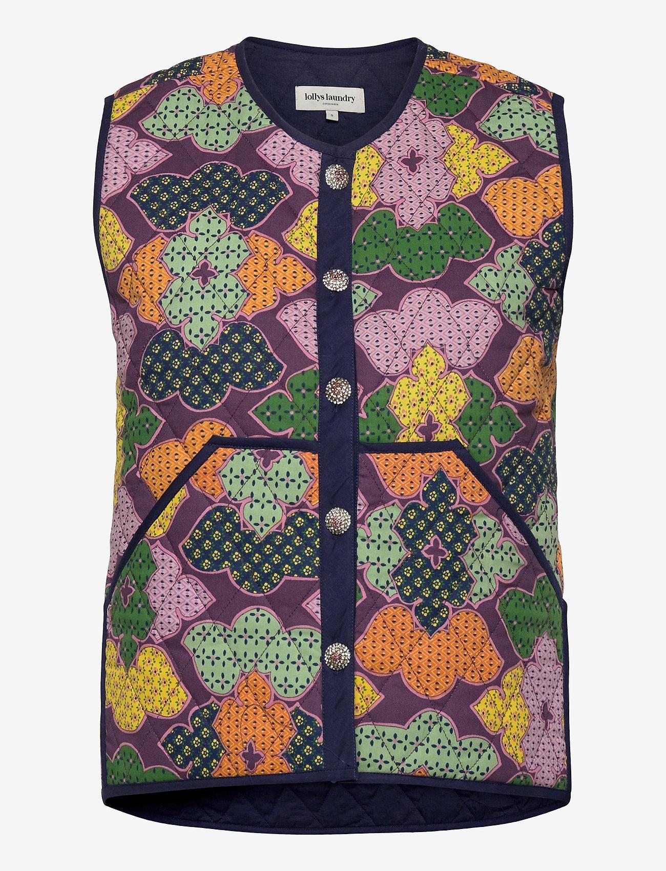 Lollys Laundry - Santiago Vest - puffer vests - 70 multi - 0
