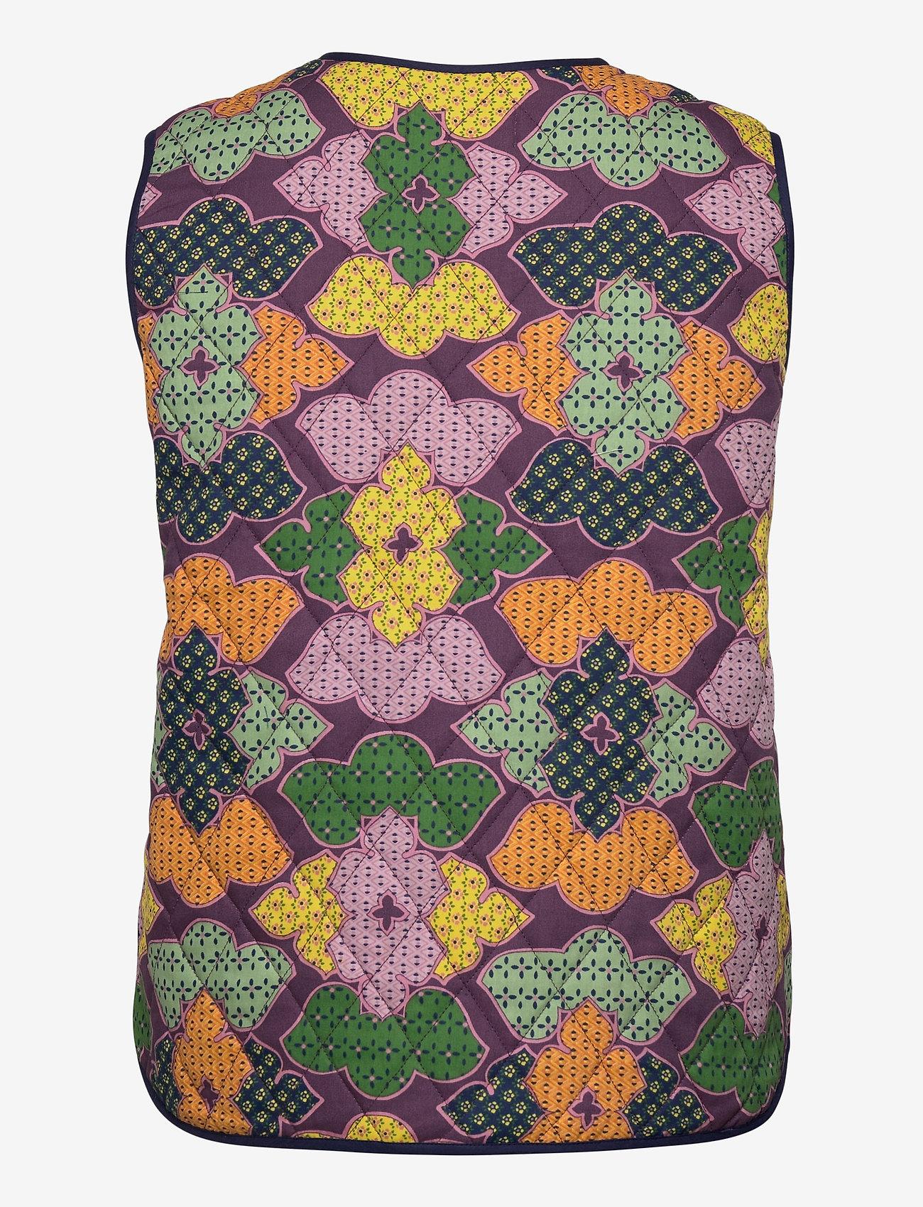 Lollys Laundry - Santiago Vest - puffer vests - 70 multi - 1