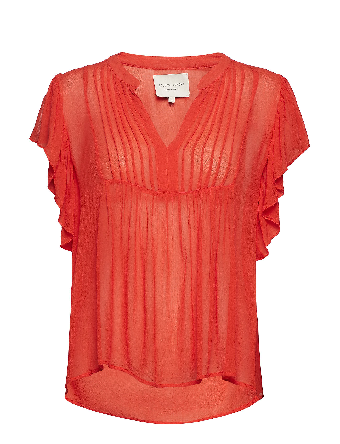 Lollys Laundry Isabel Top - ORANGE
