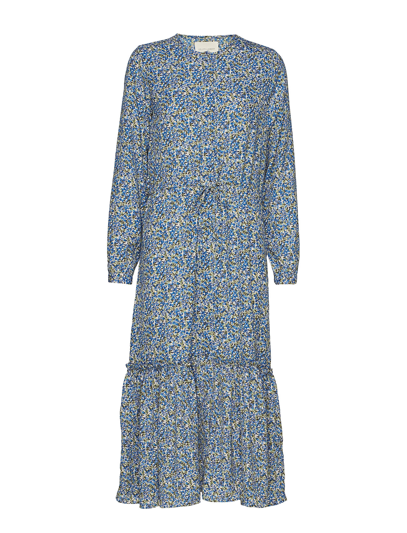 Image of Anastacia Dress Knælang Kjole Blå Lollys Laundry (3192763755)