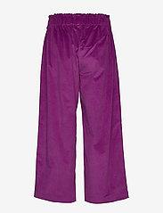 Lollys Laundry - Aila Pants - bukser med brede ben - purple - 1
