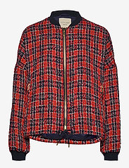 Lollys Laundry - Wilma Jacket - bomber jakker - red - 0