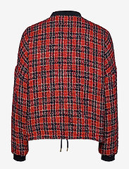 Lollys Laundry - Wilma Jacket - bomber jakker - red - 1