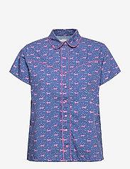 Lollys Laundry - Arcade Top - overhemden met korte mouwen - animal print - 0