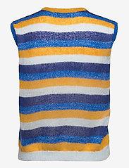 Lollys Laundry - Boho Vest - vestes tricot - 20 blue - 1